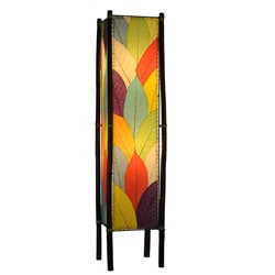Handmade Multicolor Fortune Large Floor Lamp (Philippines)