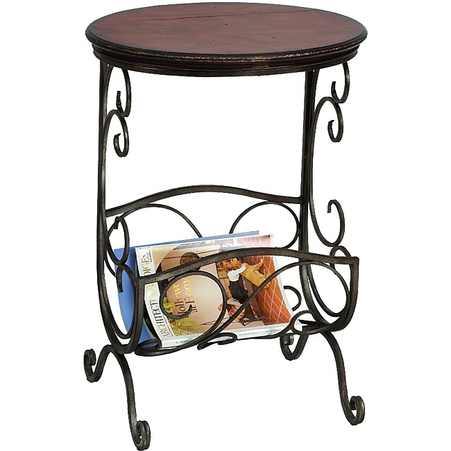 Casa Cortes Accent Table with Magazine Rack