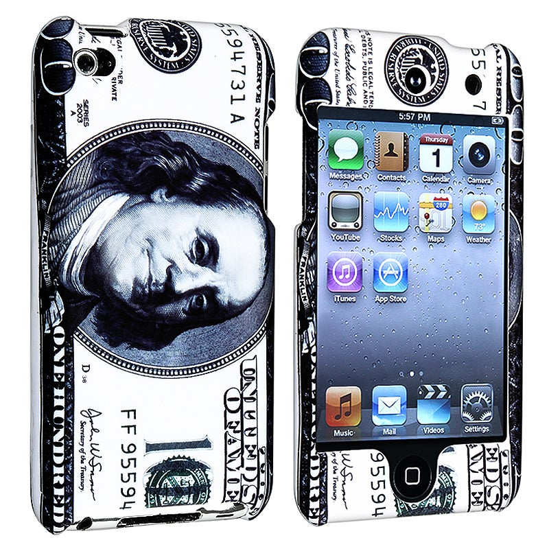 INSTEN Hundred Dollar iPod Case Cover Protector for Apple iPod Touch 4th Gen