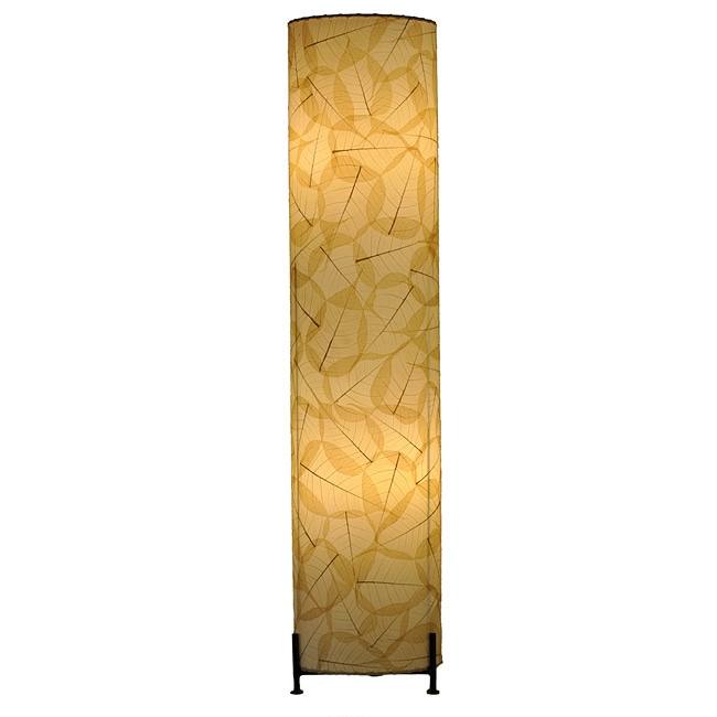 Natural Banyan Leaf Large Floor Lamp (Philippines)