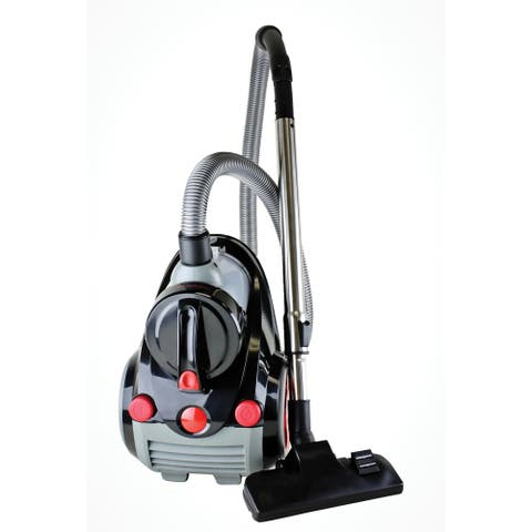 Ovente Bagless Canister Vacuum Cleaner with Premium HEPA Filter (ST2000)