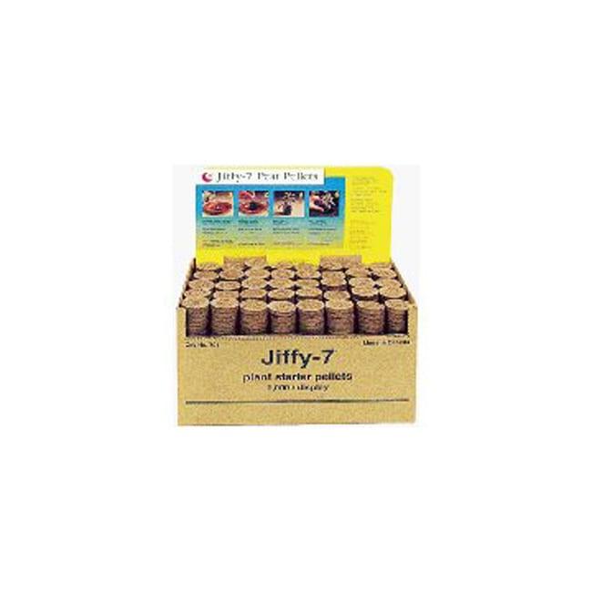 Jiffy 7 Bulk Box Of 1000 Peat Pellets Without Hole