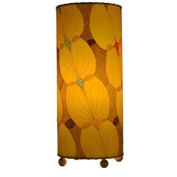 Handmade Yellow Butterfly Table Lamp (Philippines)