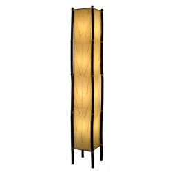 Handmade Natural Fortune Giant Floor Lamp (Philippines)