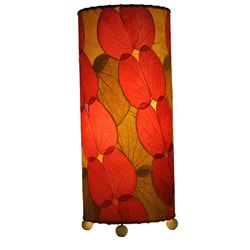 Handmade Red Butterfly Table Lamp (Philippines)
