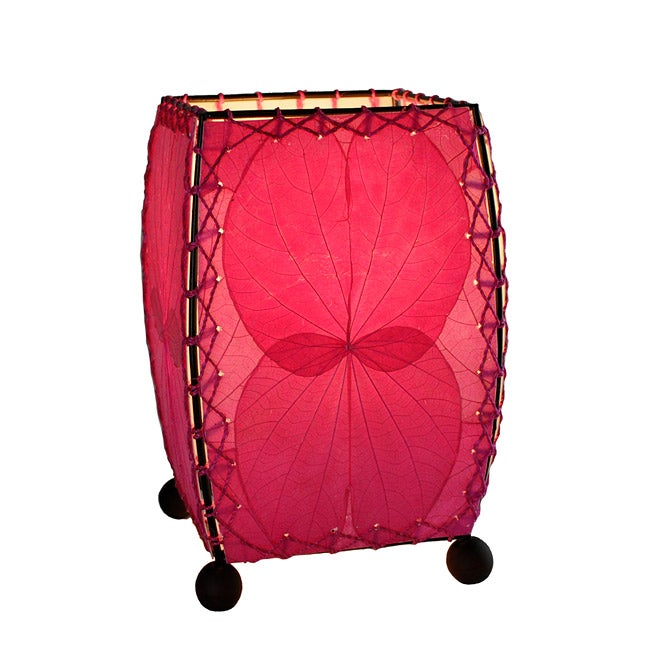Handmade Pink Mini Alibangbang Table Lamp (Philippines)