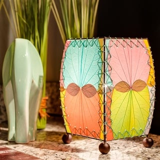 Handmade Mini Alibangbang Table Lamp (Philippines)