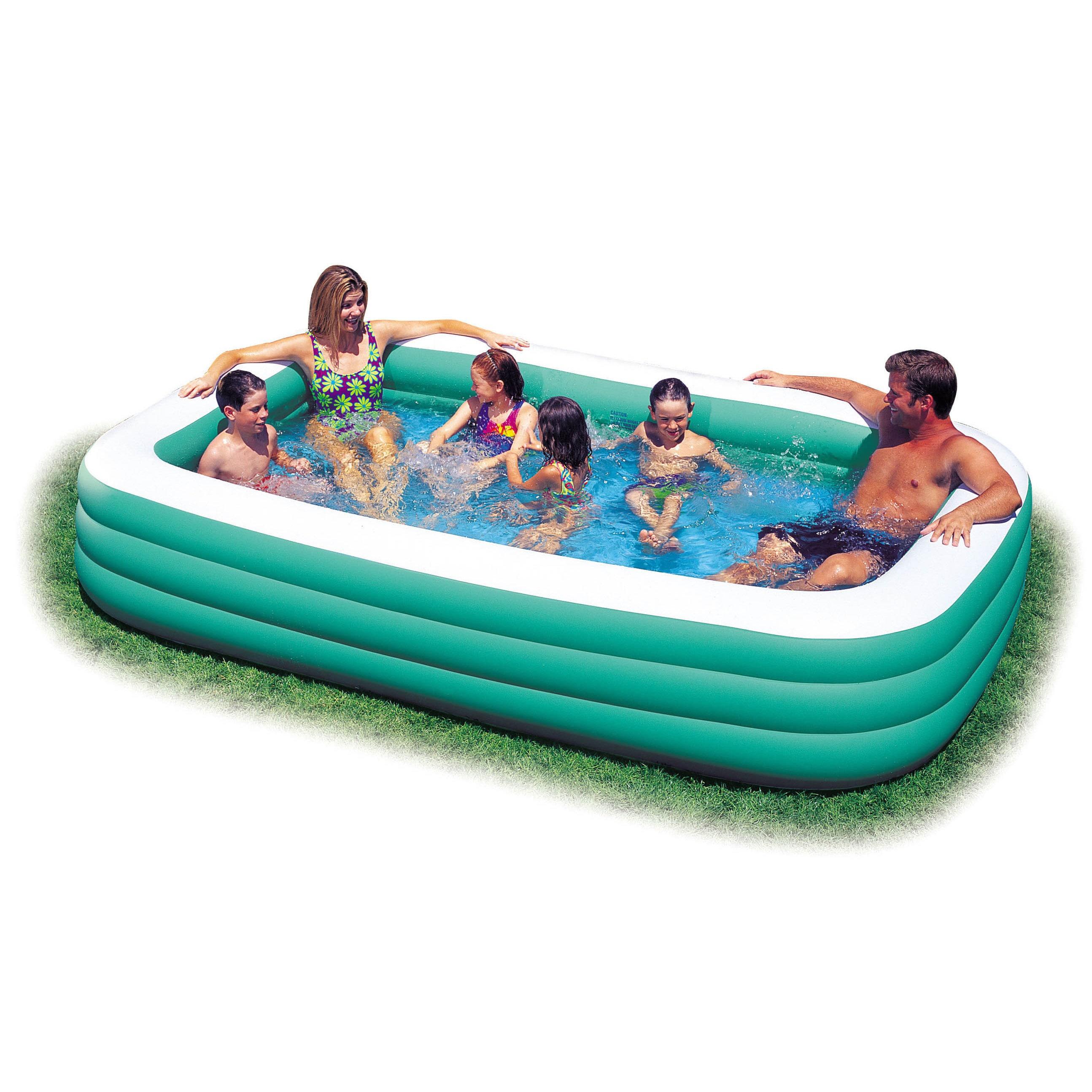 Intex Recreation Swim Center Family Pool (120-inches), Gr...