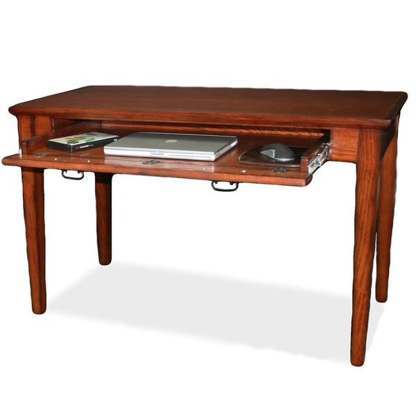 mission wooden laptop desk with pullout compartment free shipping today