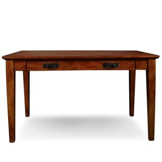 Mission Wooden Laptop Desk with Pullout Compartment