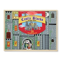 Melissa & Doug Castle Blocks Play Set