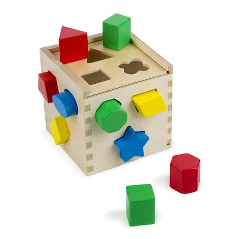 Melissa & Doug Shape Sorting Cube Activity Set