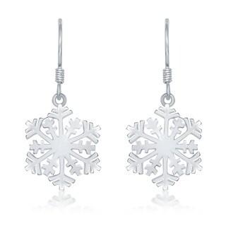 La Preciosa Sterling Silver Snowflake Earrings|https://ak1.ostkcdn.com/images/products/6366681/P13983987.jpg?_ostk_perf_=percv&impolicy=medium