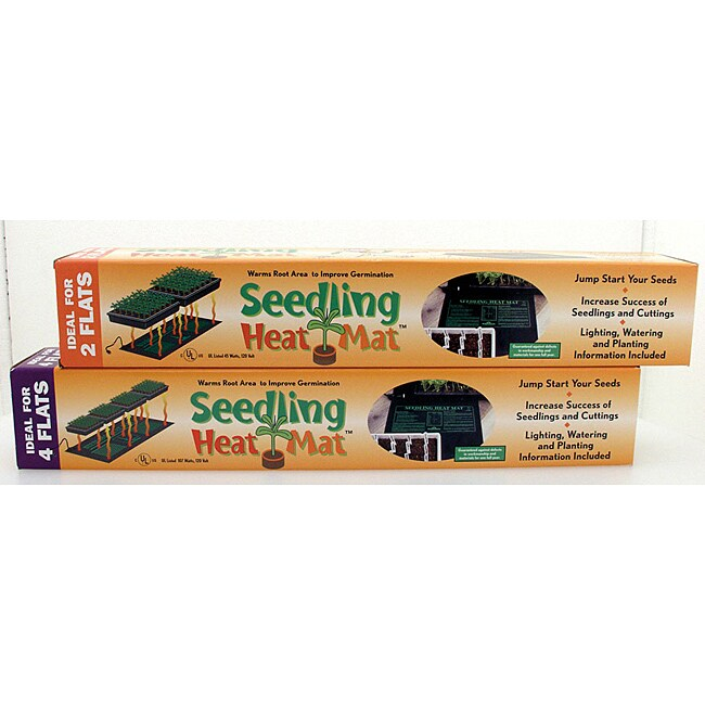 "Hydrofarm Seedling Heat Mat 45watts 20""x20"""