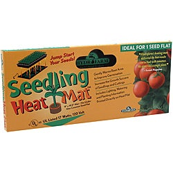 "Hydrofarm Seedling Heat Mat 17watts Boxed 10""x20"""