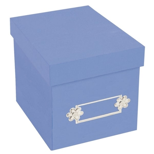 Sizzix Accessory - Large Storage Box, Periwinkle