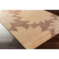 """Hand-knotted Lostwithiel Semi-worsted New Zealand Wool Area Rug - 2'6"""" x 10'"""