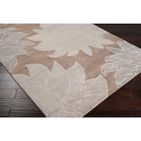 """Hand-knotted Longridge Semi-worsted New Zealand Wool Area Rug - 2'6"""" x 10' Runner"""