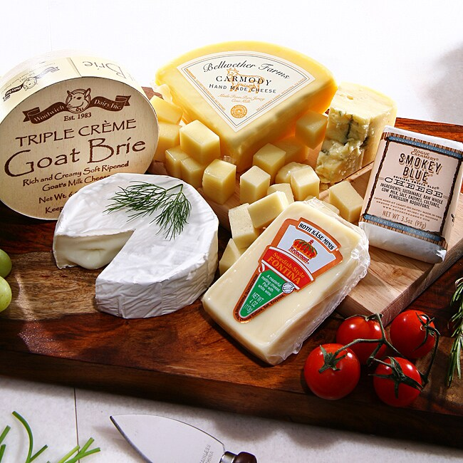 White Wine Cheese Pairing Gift Assortment