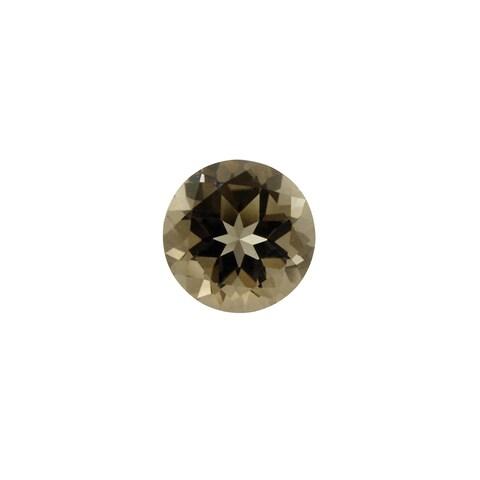 Glitzy Rocks 10mm Round 3.2ct TGW Smokey Quartz Stone