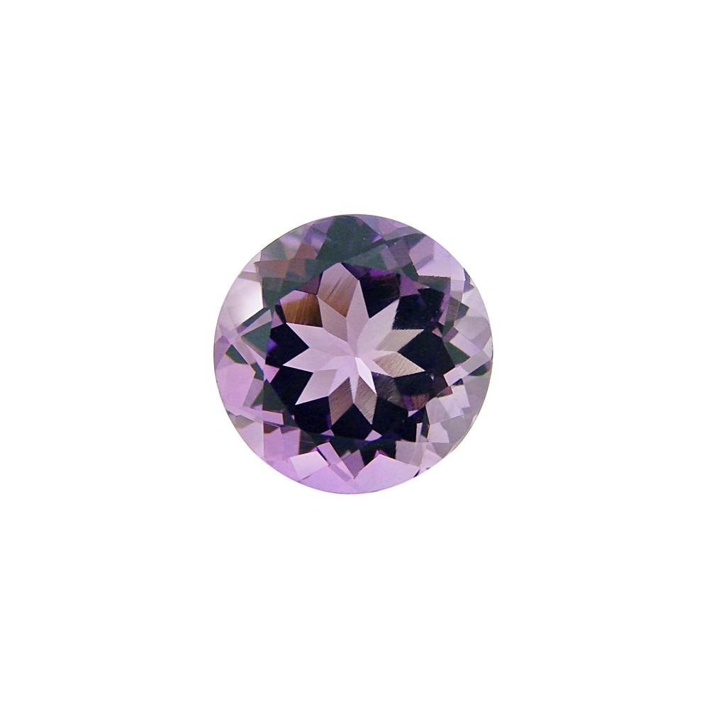 Glitzy Rocks 10mm Round 3.2ct TGW Amethyst Stone