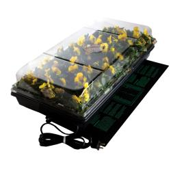 Hydrofarm Heated 72-Cell Domed Germination Station