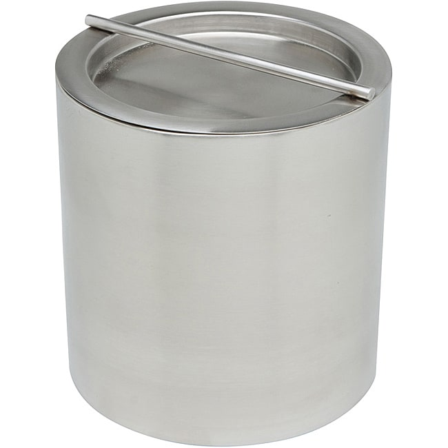 Brushed Stainless Steel 2-qt Ice Bucket