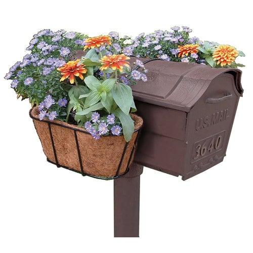 Shop Flower Garden Mailbox Planter On Sale Overstock 6367302