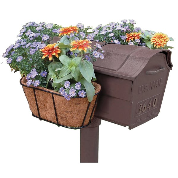 Shop Flower Garden Mailbox Planter - Free Shipping On Orders Over $45 - Overstock - 6367302