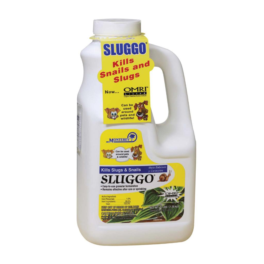 'Sluggo' Monterey Omri 5# Jug (Monterey 5# Sluggo Jug Omri)