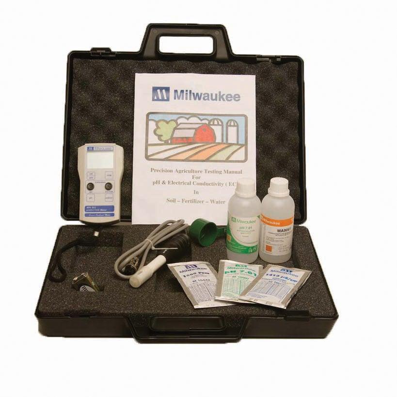 Ph, EC,Tds Meter Kit (Milwaukee AG900 Ph/EC/Tds Meter Kit...