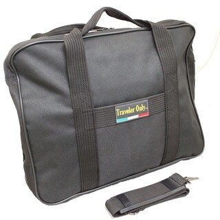 Traveler Only Lightweight Soft Attaché Business Briefcase