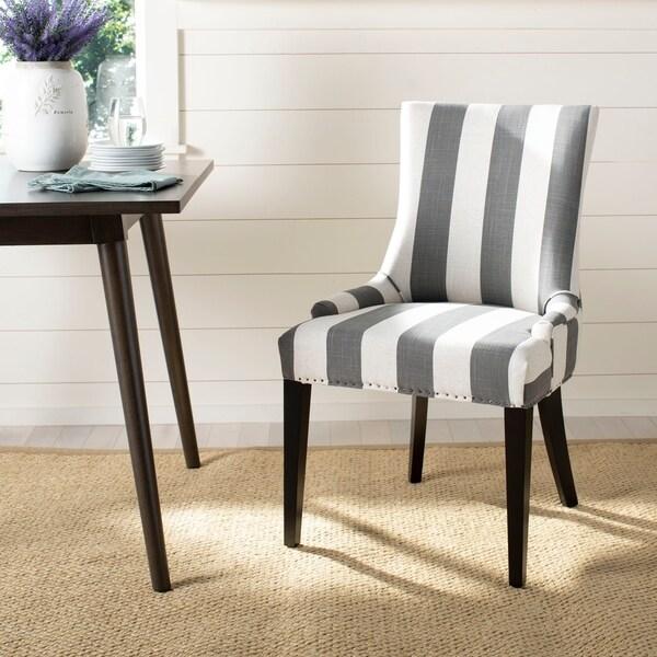 Safavieh Dining Becca Grey Dining Chair