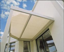 Gale Pacific 302313 Coolaroo 6' x 15' Medium Shadecloth - Sandstone