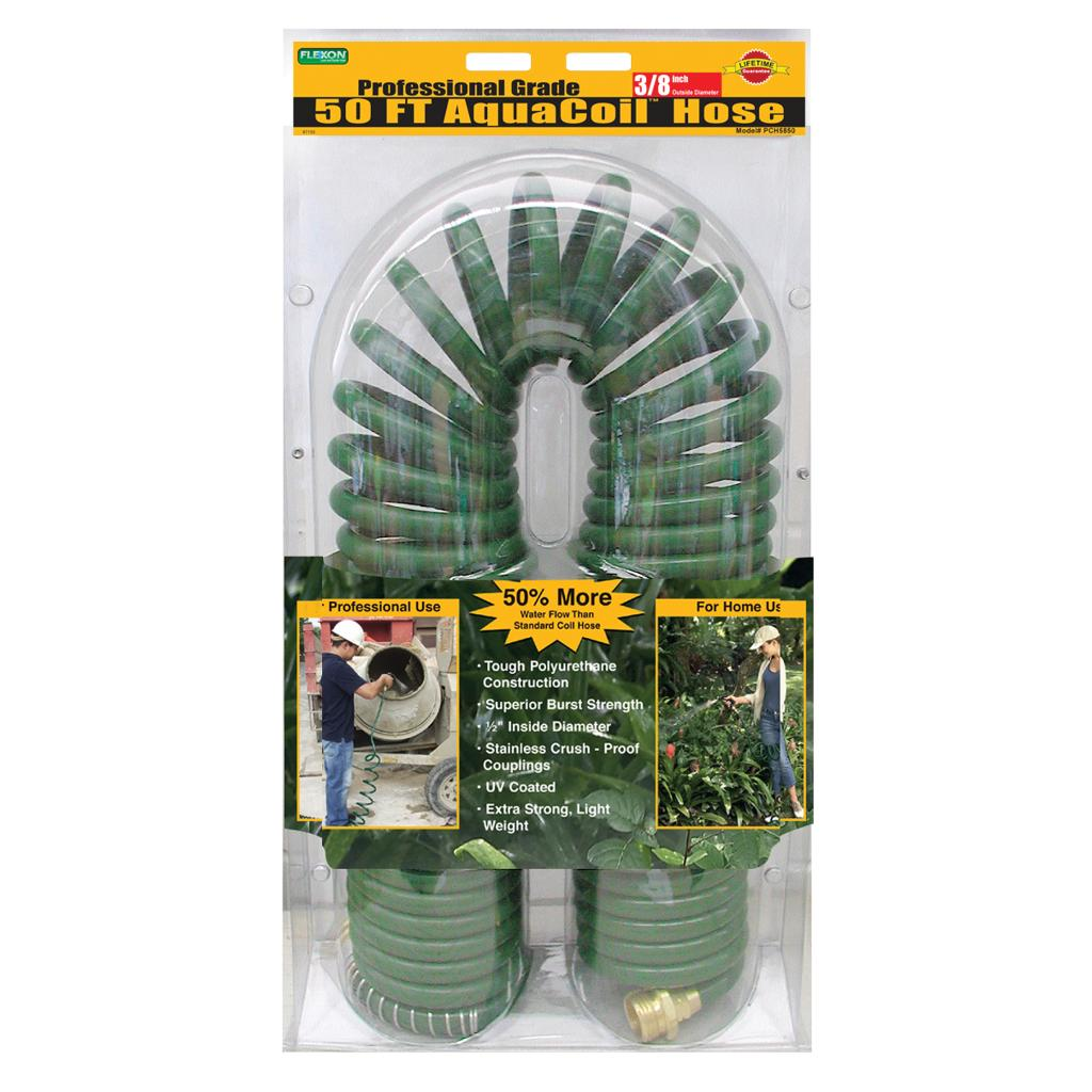 Flexon 58 inch x 50 inches AquaCoil Hose Free Shipping Today
