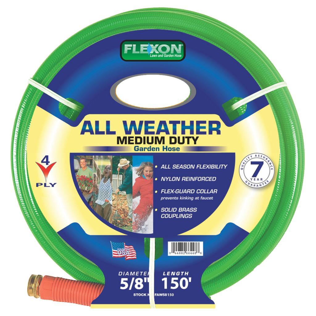 Flexon Reinforced 4-ply Nylon All-Weather Hose
