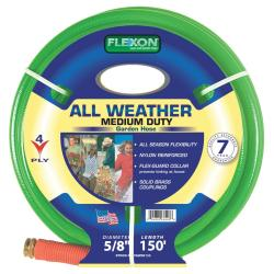 Flexon Reinforced 4-ply Nylon All-Weather Hose