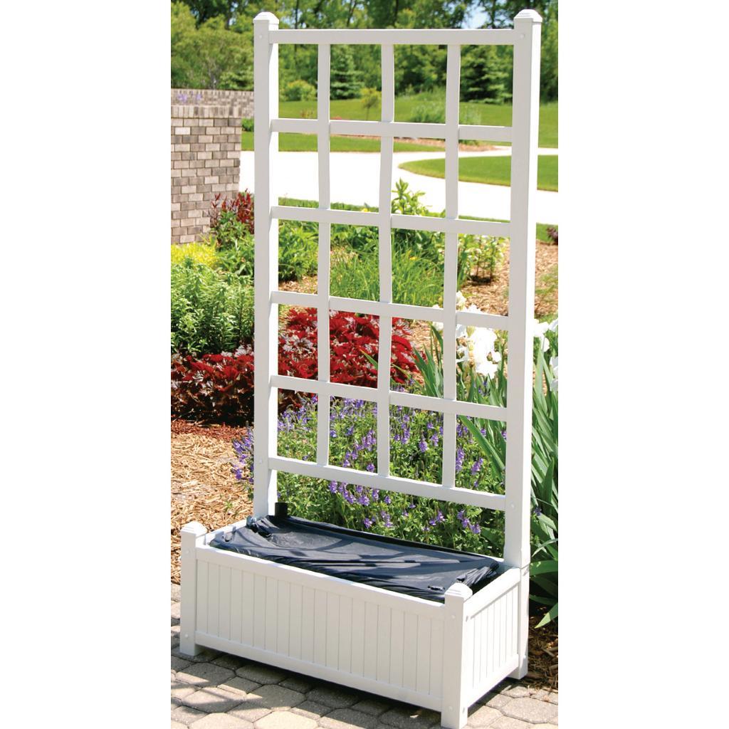 EarthBox Garden Veneer (White)