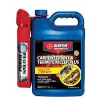 Bayer Advanced Carpenter Ant & Termite Killer Plus Ready-to-Use Power Sprayer (1.3-Gallons)