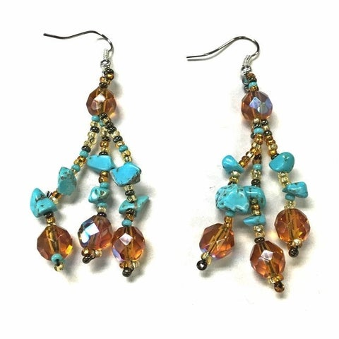 Handmade Luzy Earrings (Guatemala)