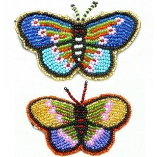 Handmade Butterfly Handmade Barrette (Guatemala)