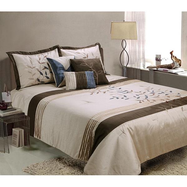 Gwynth 7-piece King-size Comforter Set