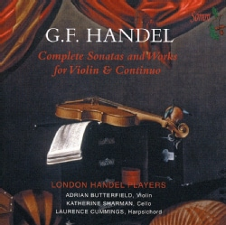 Adrian Butterfield - Handel: Complete Sonatas and Works for Violin & Continuo