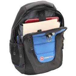 "SwissGear ""The Anthem"" Blue Laptop Backpack 16-inch"