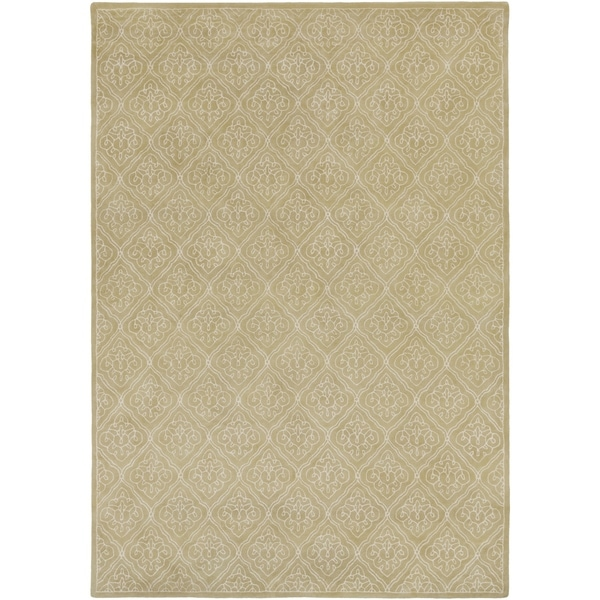 Hand-tufted Sarcelles Contemporary Geometric Wool Area Rug - 9' x 13'