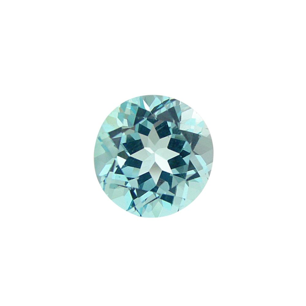 Glitzy Rocks Round 13mm 10ct TGW Blue Topaz Stone