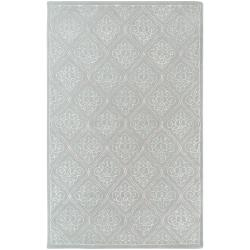 Hand-tufted Quimper Contemporary Geometric Wool Area Rug - 8' x 11' - Thumbnail 0