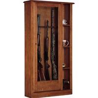10 Gun Curio Cabinet Combination