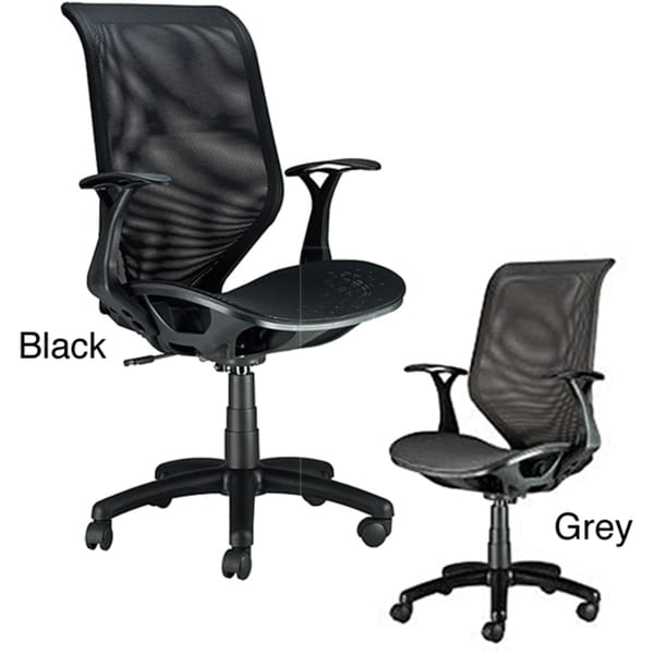 Ergonomic Polyester-mesh Fiberglass Office Chair