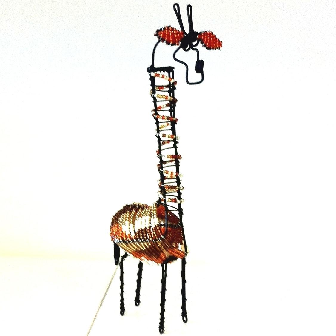 Bead and Wire Giraffe (Zuid Africa)